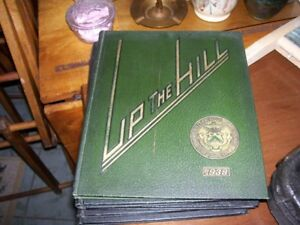 1938 RARE  UNB Yearbook