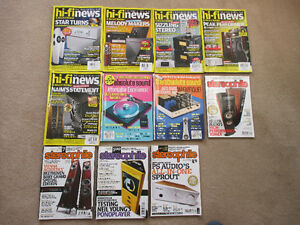 stereo magazines