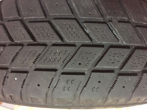 4 Winter Tires 185/60R15 Hankook I-pike London Ontario image 1