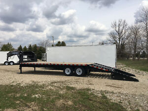 102x20 Plus 5 ft Beavertail Sure Trac Gooseneck Trailer Kitchener / Waterloo Kitchener Area image 5