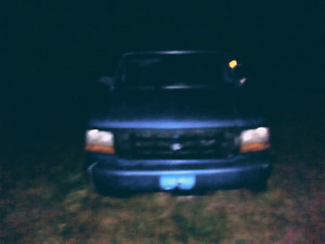 Two Ford F 150s for parts