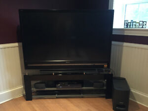 "60""Sony Flat Screen TV Full HD 1080, with Bose Speaker System +"