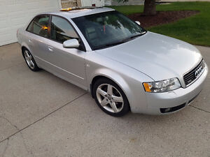 2004 Audi A4 Sedan 1.8T QUATTRO w/ S4 Body Package $6500.00
