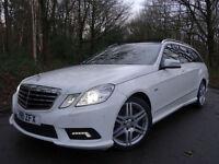 2011 11 Mercedes-Benz E350 3.0CDI (265bhp) Blue F auto CDI Sport..1 OWNER..F.S.H