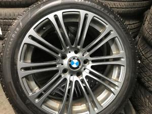 245/45R18 Dunlop avec mags BMW