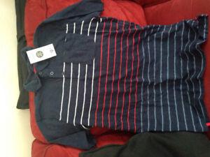 Boys striped polo t-shirt BNWT