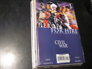 Heroes For Hire comic Book Run Complete