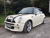 Mini Cooper S pan roof xenons s/h no faults drives spot on