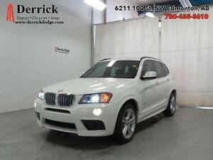 2014 BMW X3  SUV AWD XDrive M Sport Pkg Sunroof B/U Cam $301 B/W