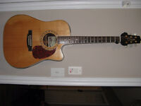 TAKAMINE - EF360 SC ACOUSTIC ELECTRIC GUITAR