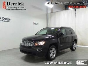 15 Jeep Compass 4X4 SUV Sport Low Milge Lthr Sts Sunroof 146 B/W