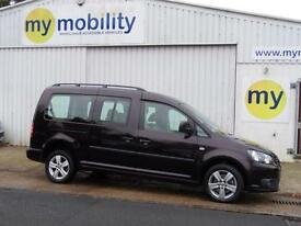 Volkswagen Caddy Maxi WINCH 5 Seat Wheelchair Accessible Adapted WAV Car