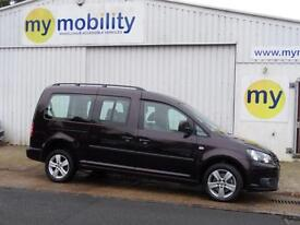 Volkswagen Caddy Maxi WINCH 5 Seat Wheelchair Accessible Adapted Disabled