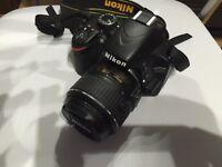 Hardly Used Nikon D3200