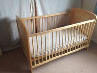 Cot Bed/ Nursery Bed by Baby Weavers