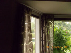 SEMI SHEER DRAPERY PANELS