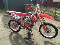 CRF450R 2010 EFi swap best 250 4/