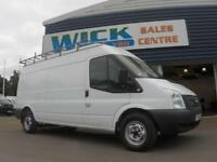 2014 Ford TRANSIT 350 100PS LWB SHR VAN F/S/H* Manual Large Van