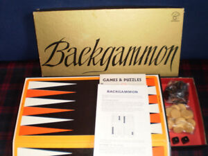 Backgammon Sets, small and large