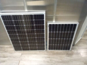 Panneau solaire petite taille 50 & 100 watts / small solar panel