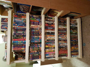 Collectable vhs tapes