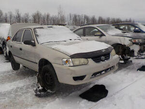 2002 Toyota Corolla Now Available At Kenny U-Pull Cornwall Cornwall Ontario image 1