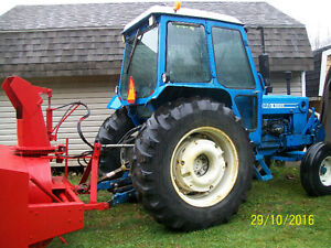 Tractor and Blower. Ford 6600  (5 blades)