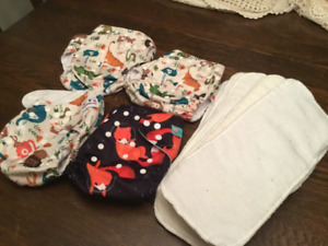 Alva Baby pocket diapers with liners