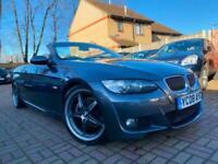 BMW 325 3.0 auto 2008 i M Sport full heated leather sat NAV XENO my very clean