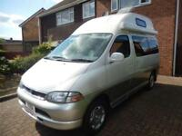 Toyota Granvia 2 Berth Rock N Roll Bed 1997 Campervan Motorhome For Sale