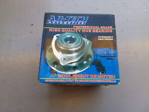 Ford hub bearing with abs sensor