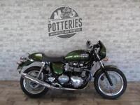 Triumph Thruxton 900 2015 with only 1475 miles
