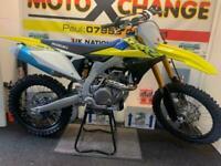 2022 SUZUKI RMZ 450...UNUSED...£6995...MOTO X CHANGE