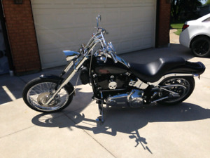 07 Harley Davidson fxstc softail custom