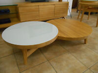 Table café Pin massif /Solid pine Coffee table