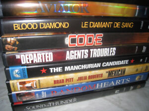 Aviator;Blood Diamond;Code;Departed;Manchurian Candidate;Mexican