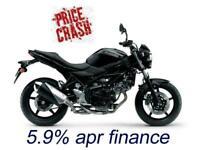 New black 2020 Suzuki SV650 save 852 and take low rate 5.9% APR finance