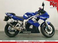 Yamaha R6 Blue 2001 - SP Engineering Exhaust, Datatool Alarm + Warranty