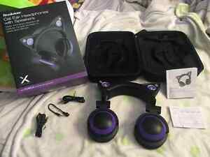 Purple Axent Wear Cat Ear Headphones Kitchener / Waterloo Kitchener Area image 2
