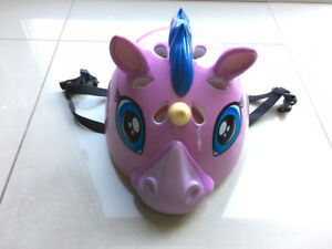 Girl's Small Raskullz Unicorn Bike Helmet