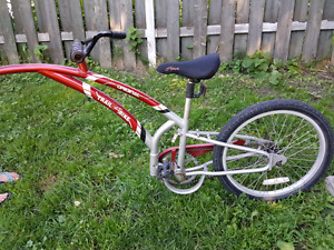 Red Trail-a-bike (Firm price)