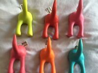 IKEA Dogs/cats bottom and tails hooks!