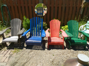 Muskoka/Adirondak Chairs FOR SALE