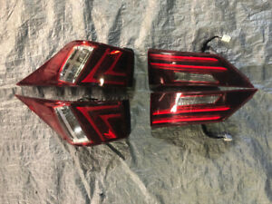 2016 Lexus IS350 Taillights