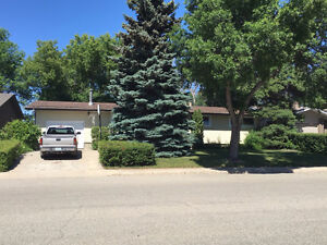Here is a great family home on a large and private lot