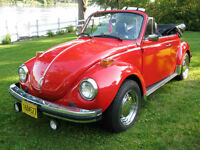 Volkwagen Super Beetle 1974 convertible