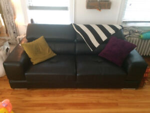Couch, love seat and chair set! Only 1 year old! $800 O.B.O.