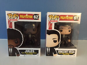 Pulp Fiction Funko Pop - Vaulted - Jules and Vincent - New