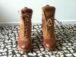 Tommy Hilfiger Genuine Leather Heeled Boots - never worn