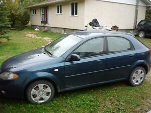2007 Chevrolet Optra LS only 98km 5spd Safety only $2950